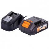 Baterija i punjač FUSE 18V 1.5 Ah VILLAGER