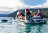 Čamac za vodu 366 x 168 x 43cm Excursion 5 Boat set INTEX