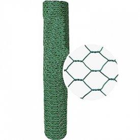 Heksagon pletivo 1-1.2 x 25m PVC