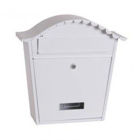 Poštansko sanduče belo 37x36x13cm Levior