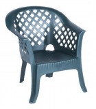 Baštenska fotelja zelena LARIO