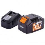 Baterija i punjač FUSE 18V 3 Ah VILLAGER