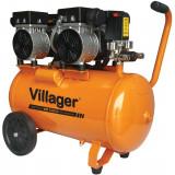 Kompresor bešumni 8bara, 50L - 3000W VAT 528/50 VILLAGER