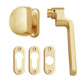 Kvaka - kugla za metalna zlatna vrata