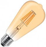 LED filament sijalica dimabilna toplo bela 9W PROSTO