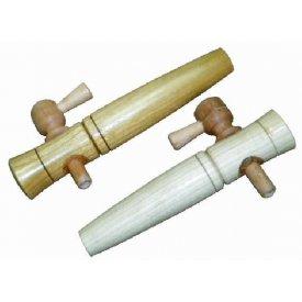 Sajtov za bure - drvena slavina 200x35mm