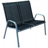 Baštenska stolica - dvosed sivi ANCONA
