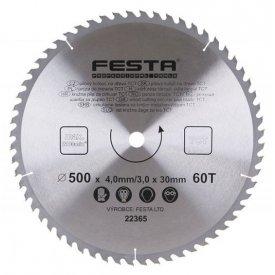 Kružna testera za drvo vidia 140-600mm Festa