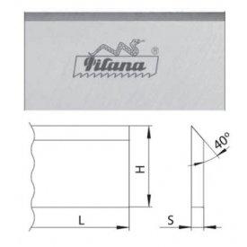 Nož za abriht 310 - 610mm Pilana