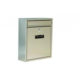 Poštansko sanduče INOX 31x26x9cm Levior