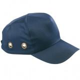 Šlem kapa sa unutrašnjom zaštitom od udaraca - plava COVER GUARD