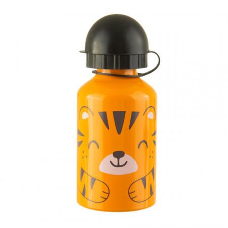 Sticla din aluminiu cu capac Tigru