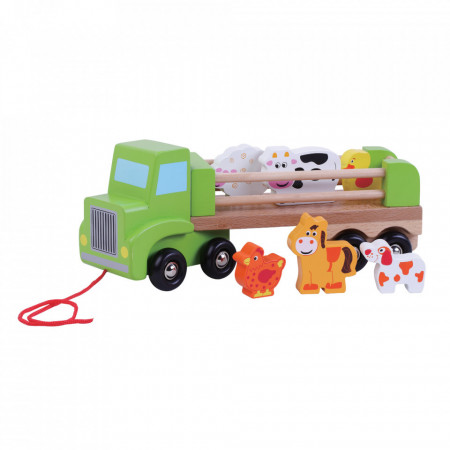 Camion de ferma cu animale JUMINI