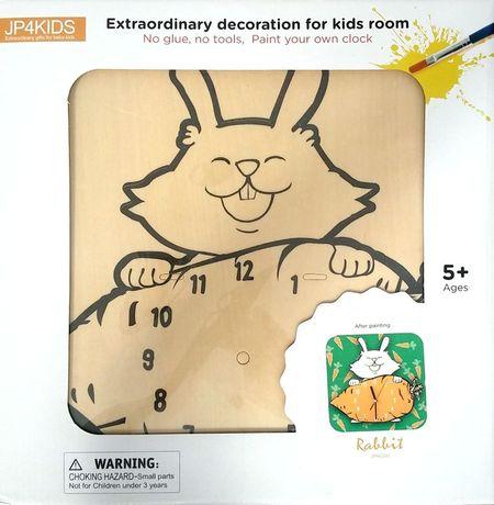 Ceas de perete Rabbit, de pictat