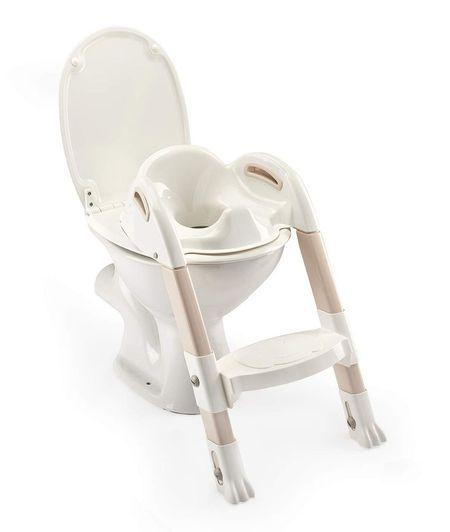 Reductor pentru toaleta cu scarita Kiddyloo MARRON GLACE