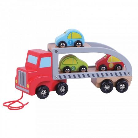 Trailer de transport cu masinute JUMINI