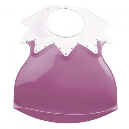 Baveta bebe ultra-soft ARLEQUIN Thermobaby, Orchid Pink