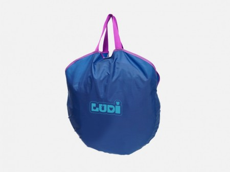 LUDI Cort UV pop-up de calatorie Bleu