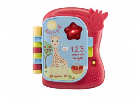 Vulli Carte muzicala luminoasa Girafa Sophie
