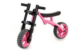 Bicicleta fara pedale YBike Extreme pink