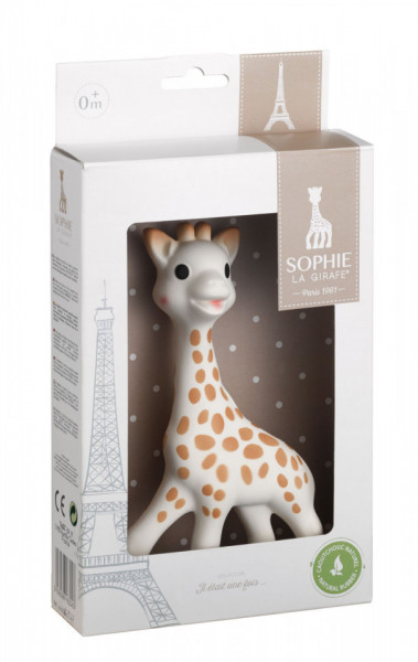 "Vulli Girafa Sophie in cutie cadou ""Il etait une fois"""