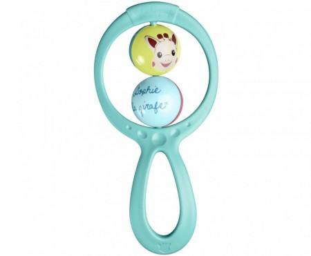 "Vulli Set cadou Girafa Sophie, zornaitoare""Swing"" si breloc"