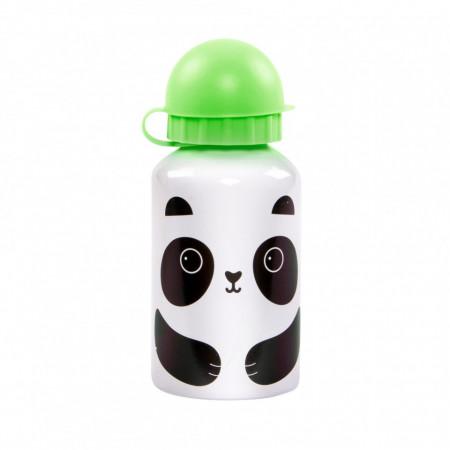 Sticla din aluminiu cu capac Aiko Panda 300 ml