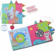 Vulli Carte senzoriala Girafa Sophie, dimensiune mare