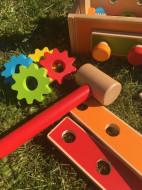 Jucarie set cutie cu unelte 20 piese