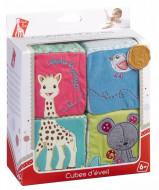 Cuburi educative din plus Vulli girafa Sophie