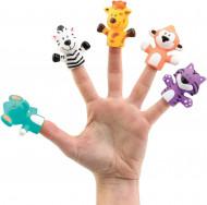 """LUDI Set 5 marionete deget """"SAFARI ANIMALS"""""""