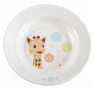 Set pentru masa melamina Girafa Sophie baloane cutie cadou