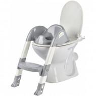 Reductor pentru toaleta cu scarita Kiddyloo GREY CHARM