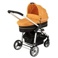 Carucior Kiddy 2 in 1 Click n Move II -Orange - RESIGILAT