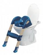 Reductor pentru toaleta cu scarita Kiddyloo OCEAN BLUE
