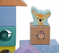 Studio Circus Cuburi din lemn Discovery