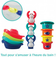 "LUDI Jucarie de baie ""Mini Monkeys"""