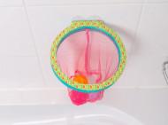 LUDI Cos de basket cu ventuze pentru baie