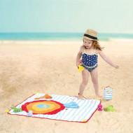 LUDI Covoras de plaja cu activitati
