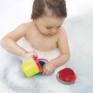 LUDI Set 4 cupe pentru baie