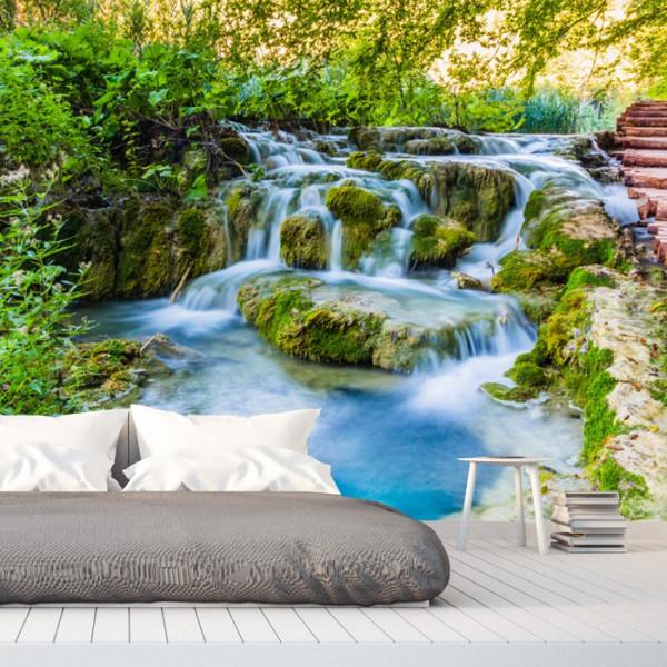 Fototapet 3D Cascada Parc National Plitvice, Croatia WTF31