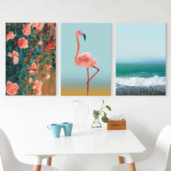 Tablou Canvas Flamingo BES652