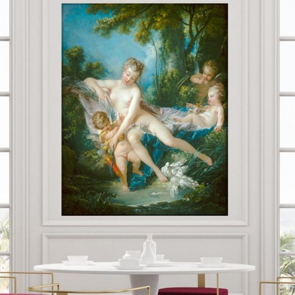 Tablou Canvas Francois Boucher Baia lui Venus RFB8