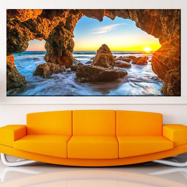 Tablou Canvas Vedere Spre Oceanul Pacific din Malibu PMO124
