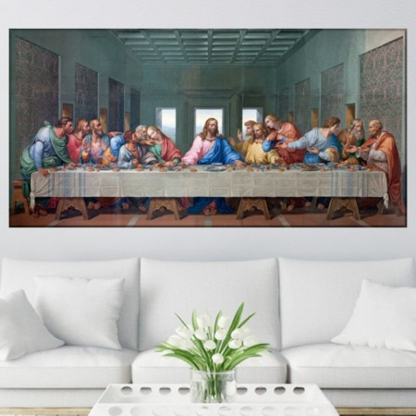 Tablou Leonardo da Vinci, Cina cea de Taina DAV4