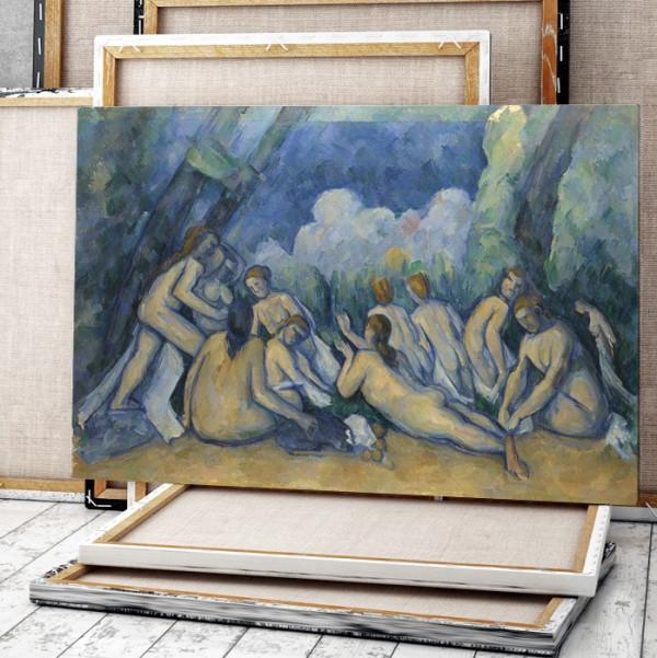 Tablou Paul Cézanne Les Grandes Baigneuses TRC3