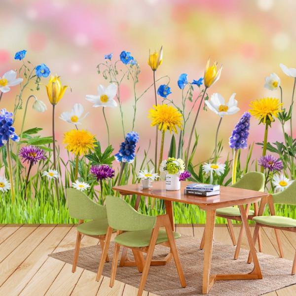 Fototapet 3D Flori de Primavara CFB33