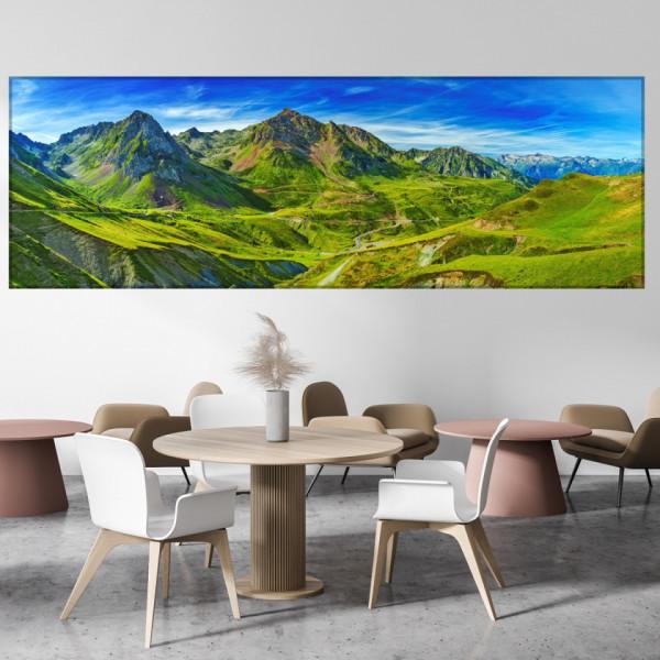 Tablou Canvas Peisaj Pitoresc Muntii Pirinei TML59