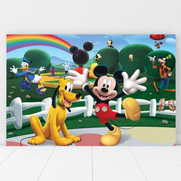 Tablou Canvas Pentru Copii Mickey si Pluto DEB10