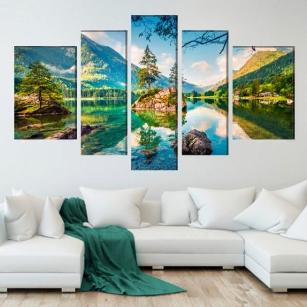 Multicanvas Peisaj de Vis La Munte TML50